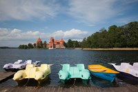 Lithuania, Trakai Historical NP, Lake Galve Fine Art Print