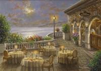A Romantic Dining Invitation Fine Art Print