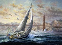 Golden Gate by Nicky Boehme - various sizes