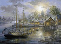 Harbor Town by Nicky Boehme - various sizes