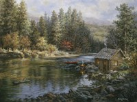Camper's Haven by Nicky Boehme - various sizes, FulcrumGallery.com brand
