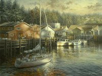 Skillful Seafarer Fine Art Print