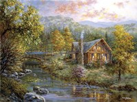 Peaceful Grove by Nicky Boehme - various sizes, FulcrumGallery.com brand