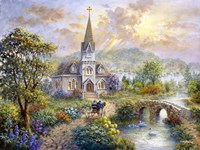 Pray For World Peace by Nicky Boehme - various sizes, FulcrumGallery.com brand