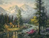 Camper's Cabin Fine Art Print
