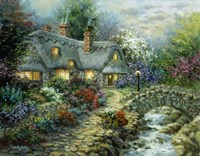 Country Cottage Fine Art Print