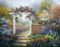 Rose Arbor Fine Art Print