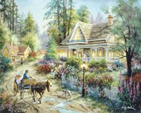 A Country Greeting by Nicky Boehme - various sizes