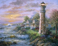 Lighthouse Haven II Fine Art Print