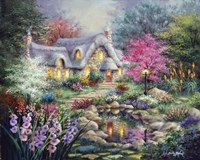Cottage Pond Fine Art Print