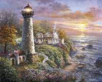 Lighthouse Haven by Nicky Boehme - various sizes
