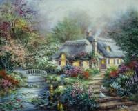 Little River Cottage Fine Art Print