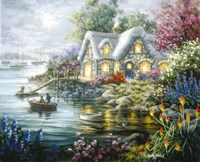 Cottage Cove by Nicky Boehme - various sizes