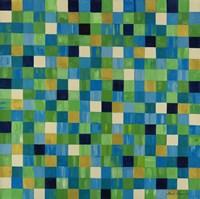 Green Checks by Pamela A. Johnson - various sizes
