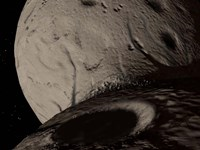 Trojan Asteroid Hektor Fine Art Print