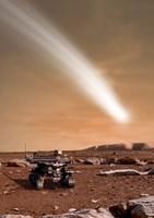 Comet C/2013 A1 over Mars Fine Art Print