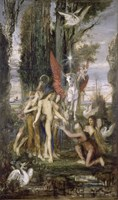 Hesiod And The Muses, 1860 by Gustave Moreau, 1860 - various sizes