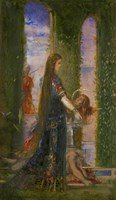 Salome In the Garden, 1878 Fine Art Print