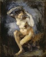 Crouching Flora, 1870 Fine Art Print