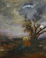 Christ On the Mount Of Olives, 1875-1880 Fine Art Print