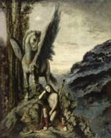 Wayfaring Poet-91, 1890 by Gustave Moreau, 1890 - various sizes