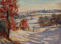 Snow In Ivry, 1895 Fine Art Print