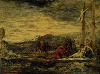 Calvary, 1867 by Gustave Moreau, 1867 - various sizes