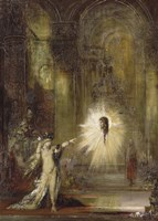 The Apparition, 1876 by Gustave Moreau, 1876 - various sizes