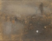 Night, Place Clichy-1900 by Eugene Carriere, 1900 - various sizes
