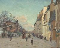 Quai De La Gare, 1880 Fine Art Print
