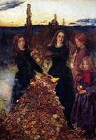 Autumn Leaves, 1856 Fine Art Print