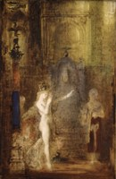 Salome Dancing Before Herod by Gustave Moreau - various sizes
