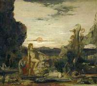 Hercules and the Hydra Of Lernae, 1875 Fine Art Print