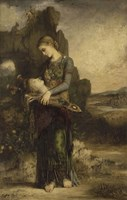 Orpheus, 1865 by Gustave Moreau, 1865 - various sizes