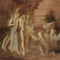 Hesiod And The Muses by Gustave Moreau - various sizes