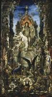 Jupiter And Semele Fine Art Print