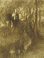 In The Woods by Eugene Carriere - various sizes
