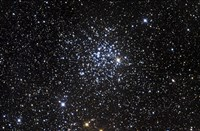 Messier 52, also known as NGC 7654, is an open cluster in the Cassiopeia Constellation Fine Art Print