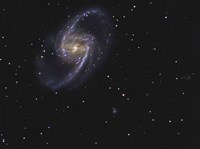 NGC 1365 is a barred spiral galaxy in the Constellation Fornax by R Jay GaBany - various sizes
