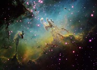 M16 the Eagle Nebula Fine Art Print