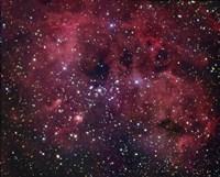 IC 410 emission Nebula in Auriga Fine Art Print