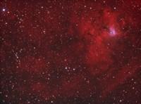 Emission Nebula iin Perseus Fine Art Print