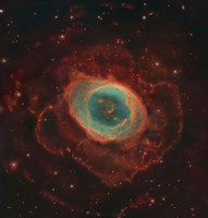 Messier 57, the Ring Nebula Fine Art Print