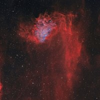 Flaming Star Nebula I by Rolf Geissinger - various sizes, FulcrumGallery.com brand