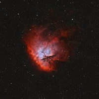 NGC 281, the Pacman Nebula I by Rolf Geissinger - various sizes, FulcrumGallery.com brand