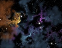 Gaseous Nebula from which star formation may occur by Ron Miller - various sizes