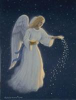 Angel Of Abundance Fine Art Print