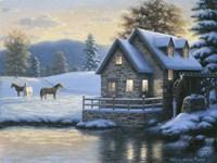Change Of Season (Mill) Fine Art Print