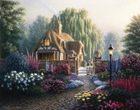 Cranfield Gardens Framed Print