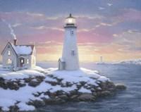 Harbor Lights Fine Art Print